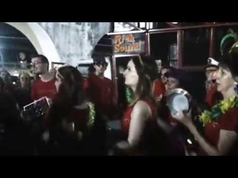 Carnaval Transatlântico LAPA - Gringo Samba da Inglaterra na Lapa!