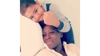 Akothee with her son oyooprince.