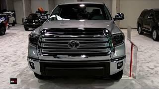 2019 Toyota Tundra Exterior and Interior Walkaround - 2018 OC Auto Show