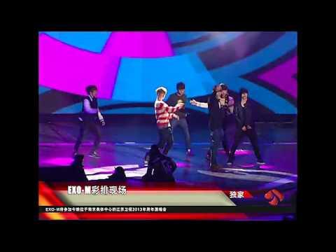 EXO M - 121230 Jiangsu Countdown Rehearsal - History + MAMA