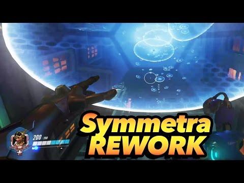 Symmetra REWORK Gameplay - Overwatch
