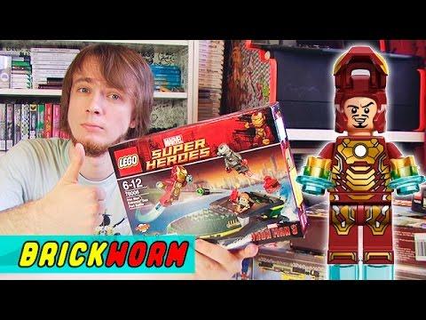 LEGO Iron Man: Extremis Sea Port Battle - Brickworm