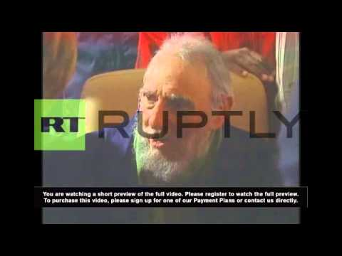 Cuba: Fidel Castro makes first public appearance in 9 months