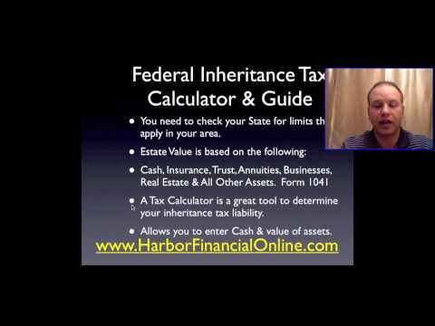 Understanding federal inheritance tax laws, Understanding federal