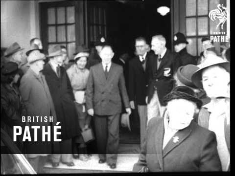 All Blacks Depart From Wellington (1953-1954)
