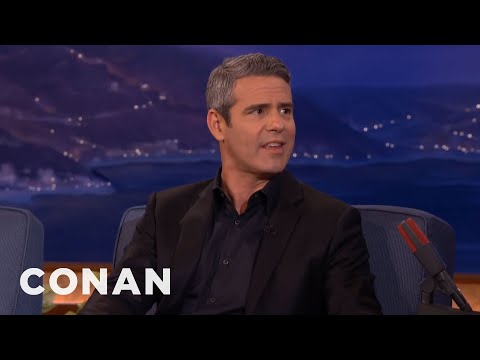 Andy Cohen's Dream Threesome With Jenny McCarthy & Donnie Wahlberg  - CONAN on TBS