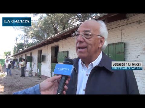 Subasta de caballos en el Hipódromo de Tucumán