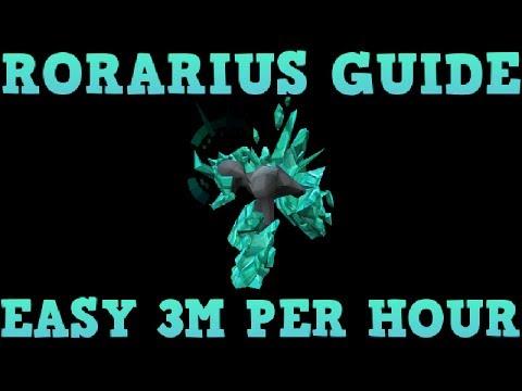 Rorarius Money Making Guide – Easy 3M per hour EOC [Runescape 2014]