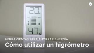 ¿Cómo funciona un higrómetro?   Pobreza energética