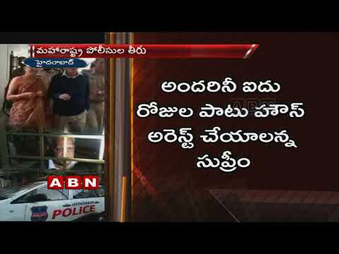 Telugu poet and activist Varavara Rao flown back home by Pune police