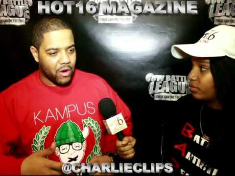 CHARLIE CLIPS vs ARSONAL DA REBEL - Hot16 Magazine Exclusive