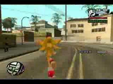 Sonic in San Andreas