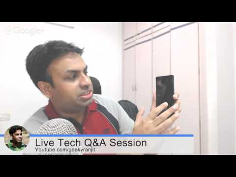 #57 Live Tech Q&A Session with Geekyranjit - 16 Sept 2014