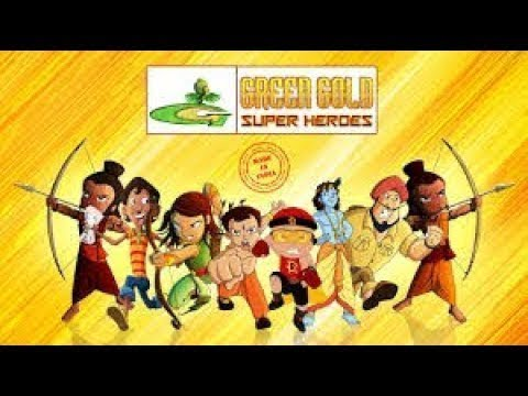 Chhota Bheem - Green Gold Super Hero's - Made In India video