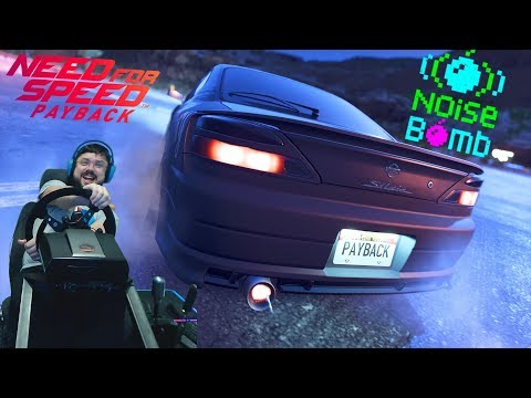Need for Speed Payback - хардкорный дрифт на Nissan Silvia S15 vs босс Aki Kimura