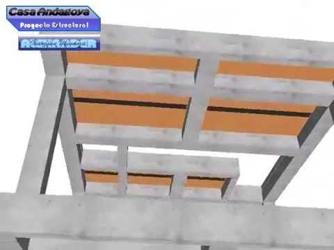 Sistema estructural en concreto reforzado para vivienda - Como hacer un piso de hormigon ...