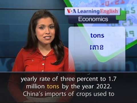 China Increases Food Imports