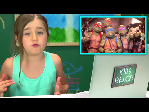 Kids React to Teenage Mutant Ninja Turtles (Bonus #108)