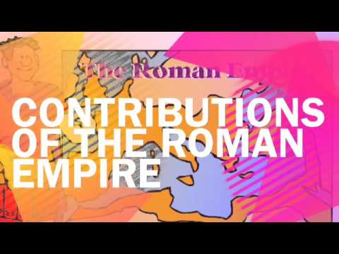 Contributions of Ancient Greece and Rome