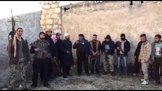 الشيخ عبدالله أبو تركي مع المجاهدين في ريف حلب