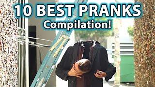 10 BEST Scare PRANKS Ever! (Compilation)