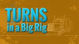 🎬 TRUCK DRIVER STUDENTS! Turns in a Big Rig