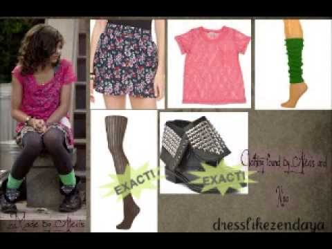 Zendaya Coleman Outfits (dress like Zendaya/Rocky from Shake it Up)