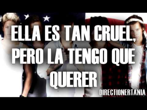 One Direction - Just can't let her go (LETRA EN ESPAÑOL)