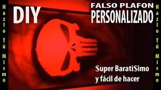 DIY - Hazlo Tú Mismo - Falso PLAFON LED Personalizado De Bajo Presupuesto