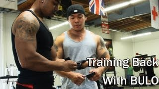Bulo and Benoit Training Back At Long Beach Metroflex Gym
