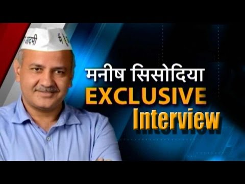 Exclusive with Manish Sisodia after Delhi victory