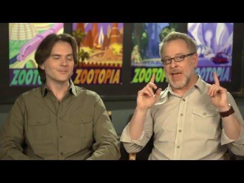 Zootopia / Zootropolis Directors Behind The Scenes Interview - Byron Howard & Rich Moore