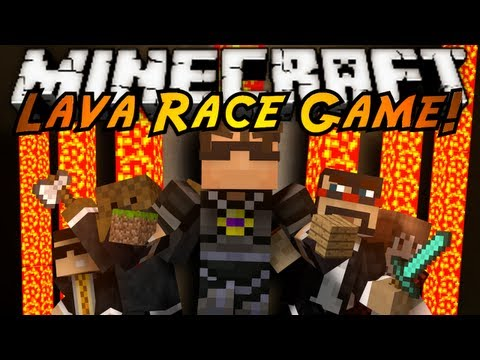 Minecraft Mini-Game : LAVA RACE!