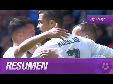 Resumen de Real Madrid (4-0) SD Eibar