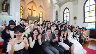 hikari   risa コトバウェディングムービー 撮って出しVer /結婚式 大分 Same day edit