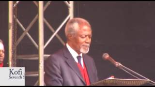 Koffi Annan Urges Zim citizens to exercise their power to vote in the 2018 elections