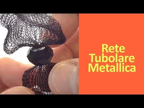Rete Tubolare Metallica per creare Bijoux - Art Bijoux