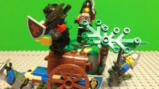 "LEGO Castle ""Forest Ambush"" Stop Motion"