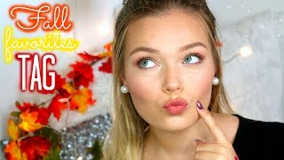 The Fall Favorites ♡ TAG