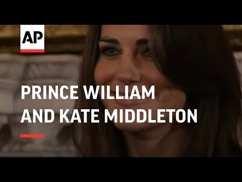 Prince William and Kate Middleton announce engagement - 2010
