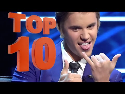 Justin Bieber Comedy Central Roast - TOP 10 Meanest Jokes