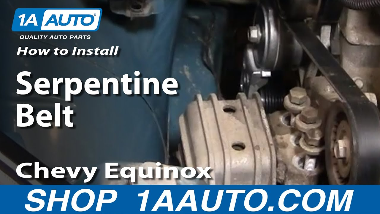 How To Install Replace Serpentine Belt Idler Pulleys Chevy