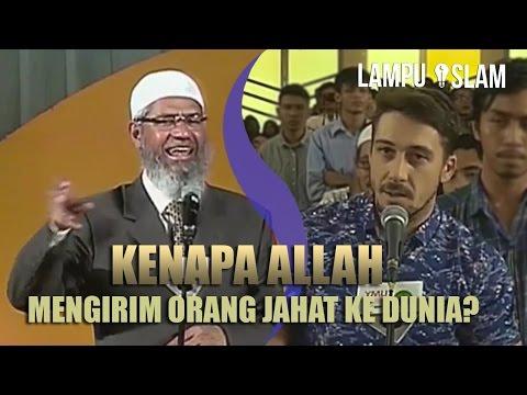 Muallaf Bertanya Kenapa Allah Mengirim Orang Jahat ke Dunia? | Dr. Zakir Naik UMY Yogya 2017