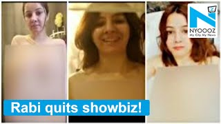 Pakistani singer Rabi Pirzada announces she is quitting showbiz