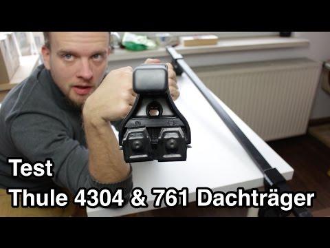 Test Thule 4304 und 761 Dachträger | Dachträger Test | Opel Corsa Dachträger Test
