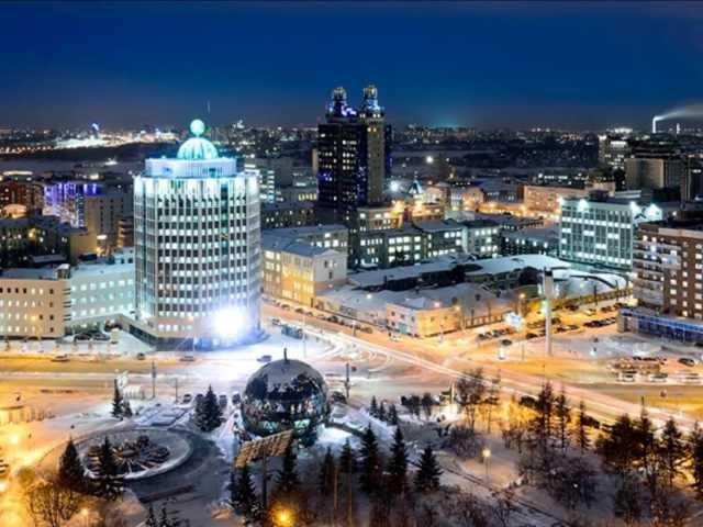 Смотреть - Видео-шутка.Сказка про Новосибирск Красивые ночные виды. Шура -