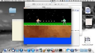 Learning C Game Programming - Simple Gun Shooting