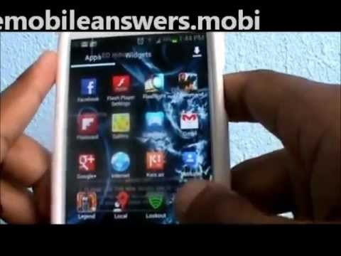 Посмотреть ролик - Free Adobe Flash Player 11 for Samsung Galaxy S3.