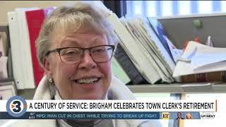 Town clerk retires making history with combined service of 91 years