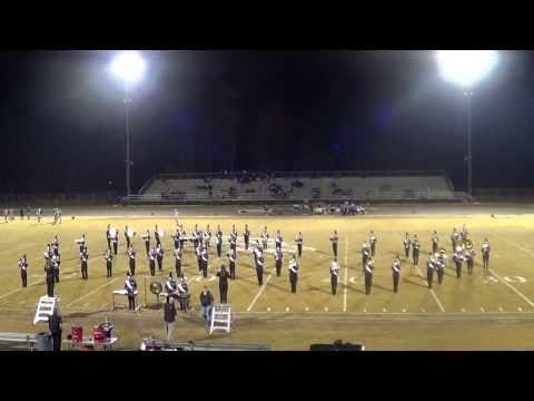 "Northern Guilford High School Marching Band: ""The Music of James Bond"" Opener 11/1/13"